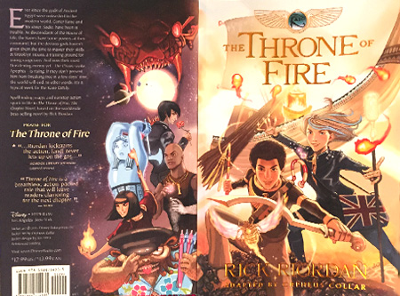 kane chronicles graphic novel throne of fire